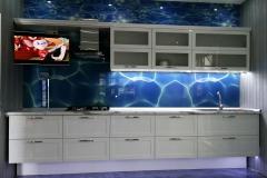 кухня МДФ подвесная